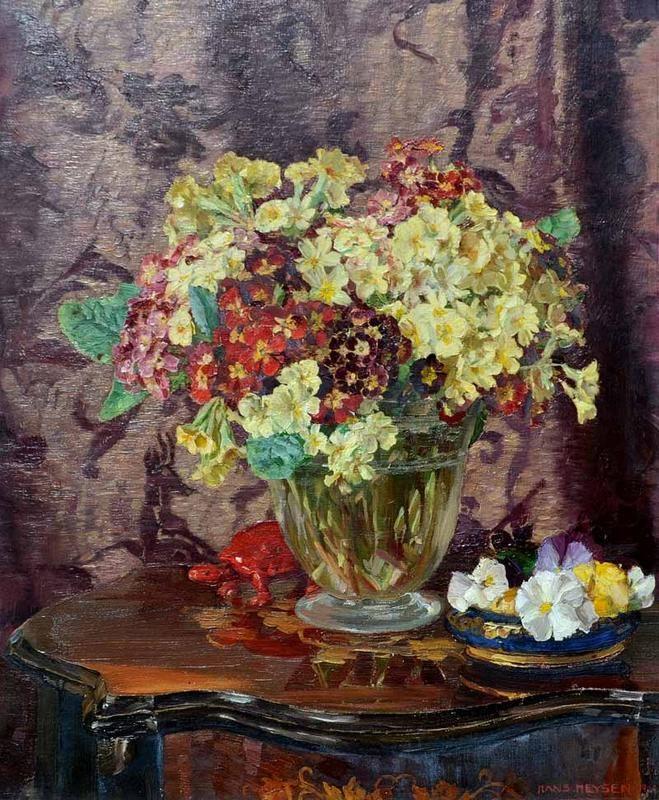 Still Life with Flowers 1924: Hans Heysen