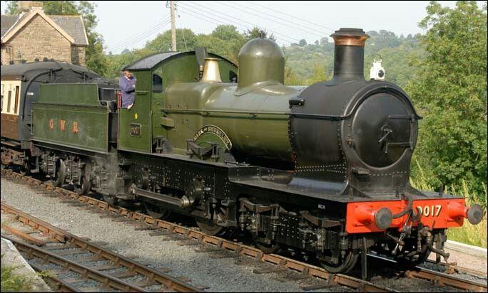 BR (GWR)  Collett 90XX (30XX) Earl ('Dukedog') class  4-4-0