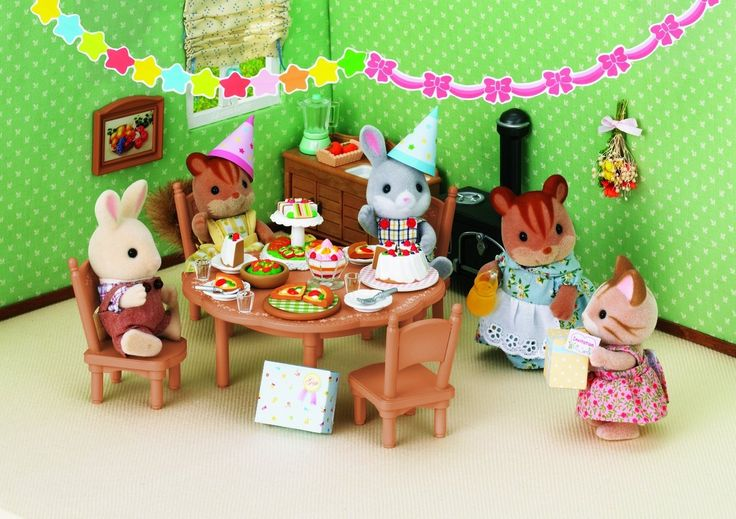 Sylvanian Families 2932 Party Set by Sylvanian Families - Shop Online for Toys in NZ