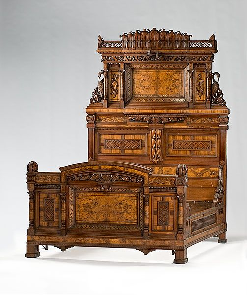 184 best images about victorian beds on pinterest for Victorian age furniture
