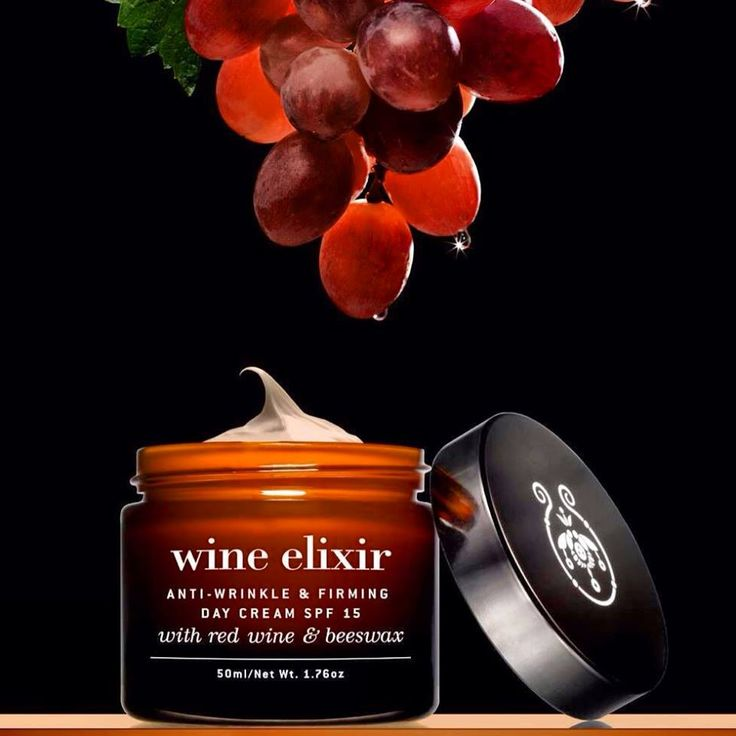 Did u know that #RedWine has strong  #antiaging properties? Discover its precious secrets in the #WineElixir line . Anti-wrinkle, firming day cream with red wine rich in resveratrol and beeswax. Moisturizes in depth, prevents from sun and rejuvenates skin and spirit.