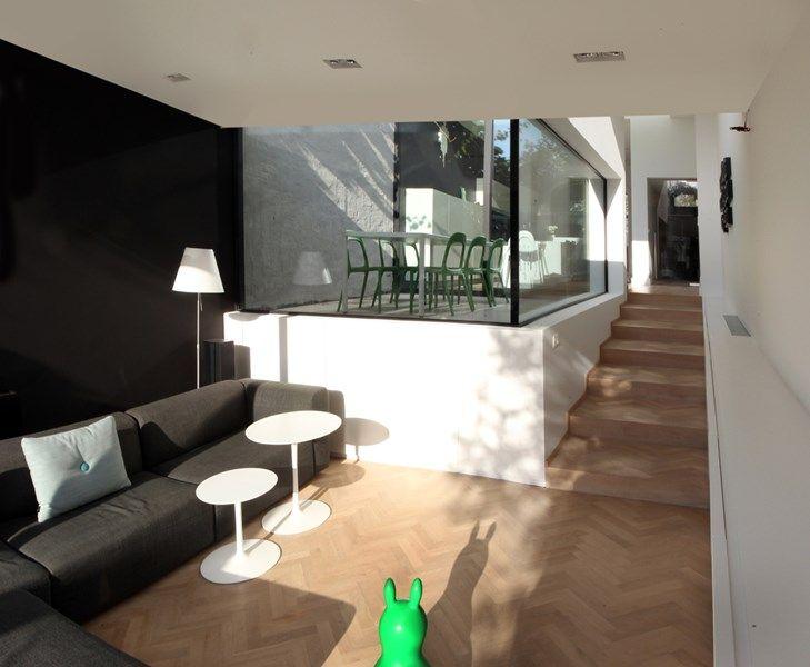 25 beste idee n over smal huis op pinterest bed ontwerpen lofts en moderne gevels - Huis exterieur model ...