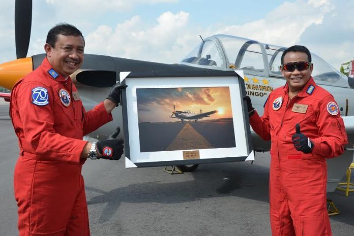 Terbangkan T-34 Charlie, KSAU Napak Tilas Hari Bhakti TNI AU