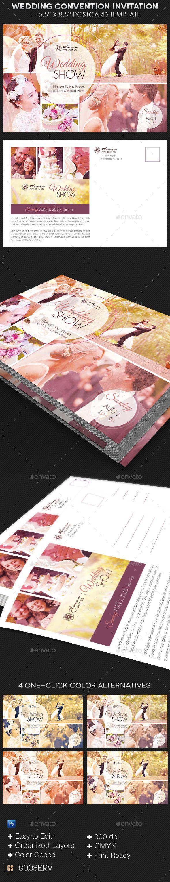 business event invitation templates%0A Wedding Convention Invitation Template