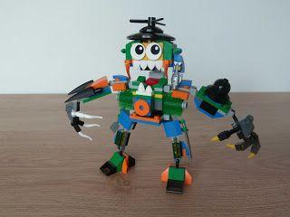 Totobricks: LEGO MIXELS SERIES 9 MEGA MAX MOC Instructions