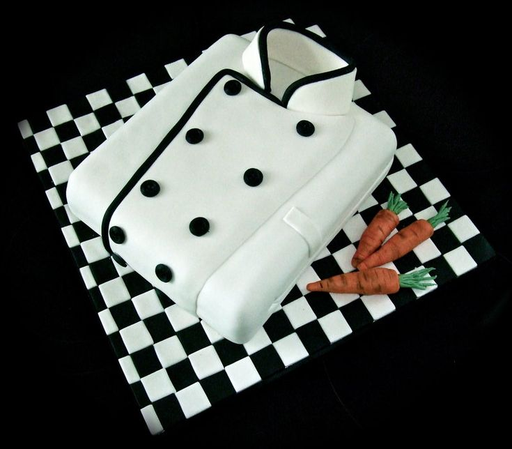 How To Make A Chef Jacket Cake