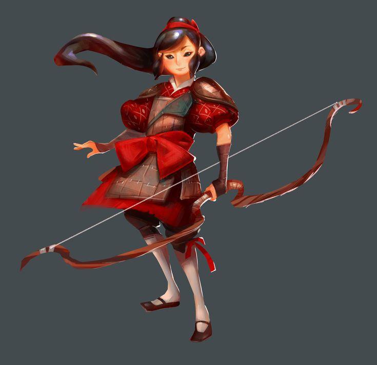 Archer girl