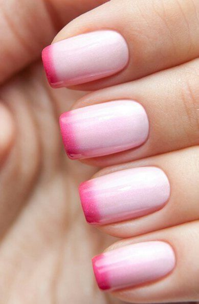 Pretty French Manicure Nail Design - Styles 2d