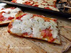 La Pizza di pancarrè,è un'ottima e velocissima alternativa alla classica pizza E' l'ideale quando si hanno degli ospiti improvvisi