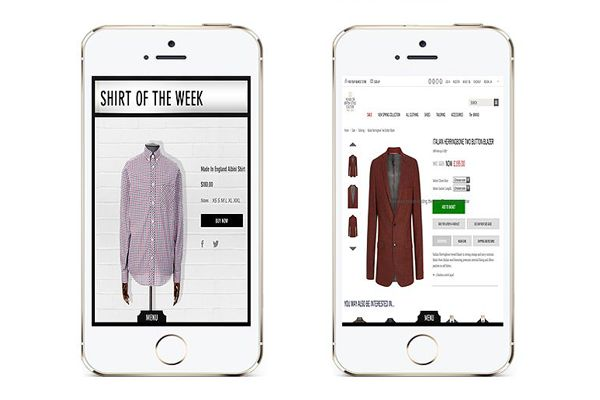 #mobileapps, Interact with latest range as you would in the real Shirt Bar  - unfold and see a 360° view of all shirts  - search and buy by collar, fit and material - special offers, features and more.   #androidapps, #ipadapps, #iphoneapps