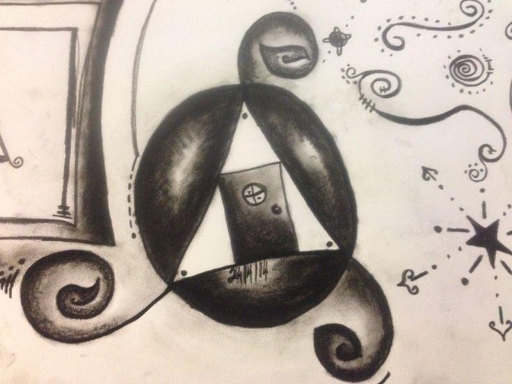 Charcoal n pencil By Alegna