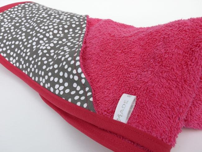 Hooded towel - Sortie de bain personnalisé - Cape de bain bébé - Cadeau de naissance - Made by Emy