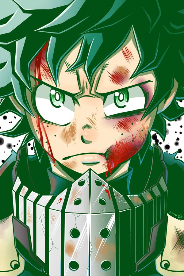 Boku no Hero Academia - Deku by kentaropjj.deviantart.com on @DeviantArt