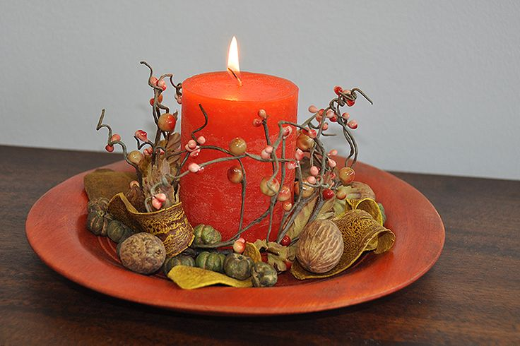Candle & decoration