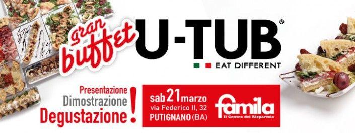 Gran Buffet U-Tub al Famila di Putignano