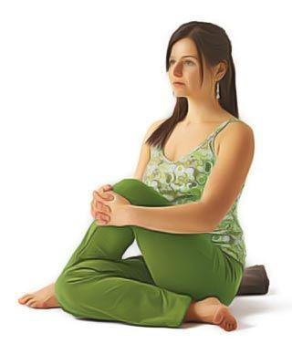 torsion spinale yoga contre sciatique
