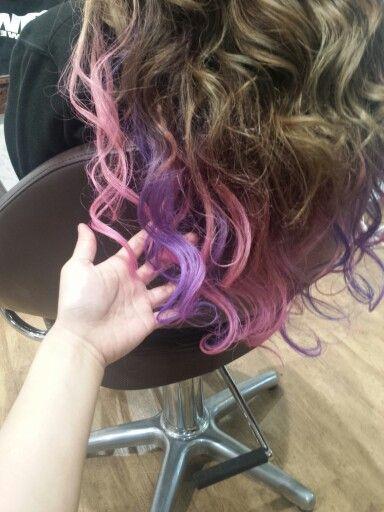 #pink#Lyrac#lavender#Haircolor#dipdye#ombre#extension#hairstyles#longhair#ピンク#ラベンダー#パープル#ライラック#ヘアカラー#Purple#ディップダイ#派手#チシャネコ#ceshacat Hair salon Welina In japan Hitomi.yanagida