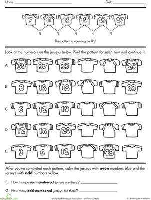 number sense complete the pattern pre k door ideas. Black Bedroom Furniture Sets. Home Design Ideas