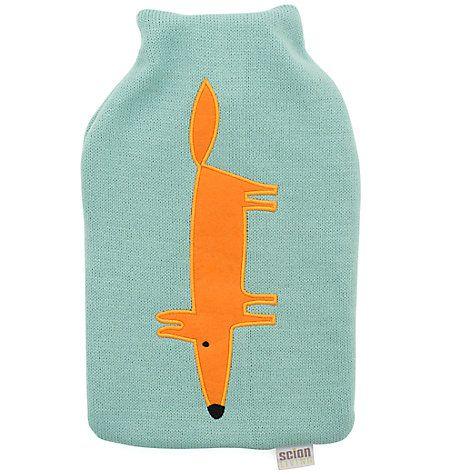 Buy Scion Mr Fox Hot Water Bottle Online at johnlewis.com