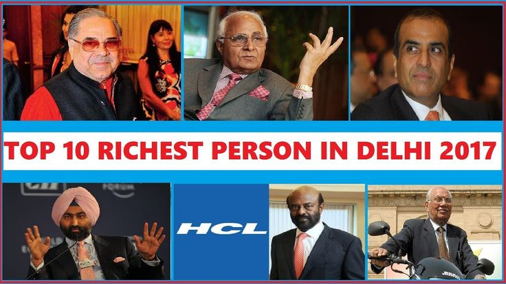 Top 10 Richest People in Delhi 2017 Whether you call it Delhi New Delhi NCR Indraprastha or plain ol' Dilli there is one constant in this city of 13 million people. Money doesn't whisper -- it roars. From the crowded by lanes of Chandni Chowk to the sprawling bungalows of South Delhi to the fast-growing expanses of its suburbs Delhi seems light years away from the gentle -- and even dull -- avatar of just a decade-and-a-half ago. For the record seven individuals in our rich list have…