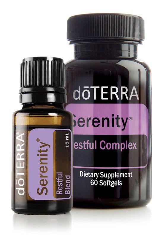 dōTERRA Serenity® Restful Blend Combo Pack