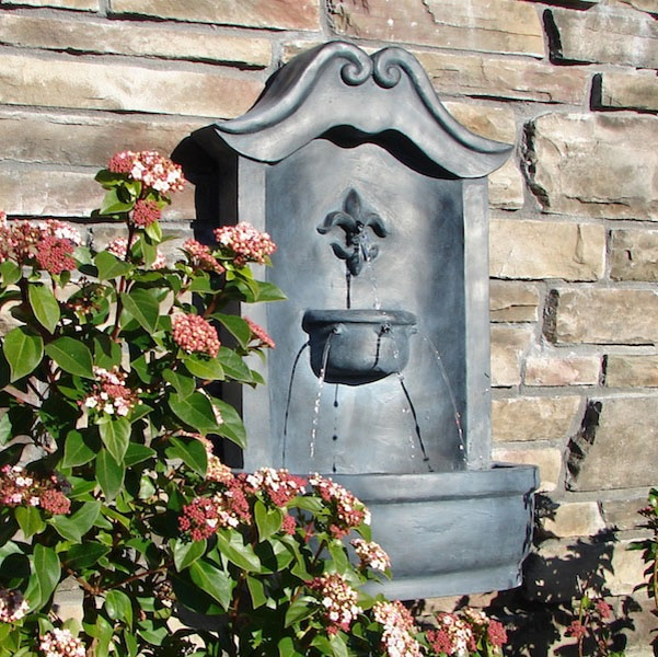 the lafayette wall fountain by harmony fountains outdoor