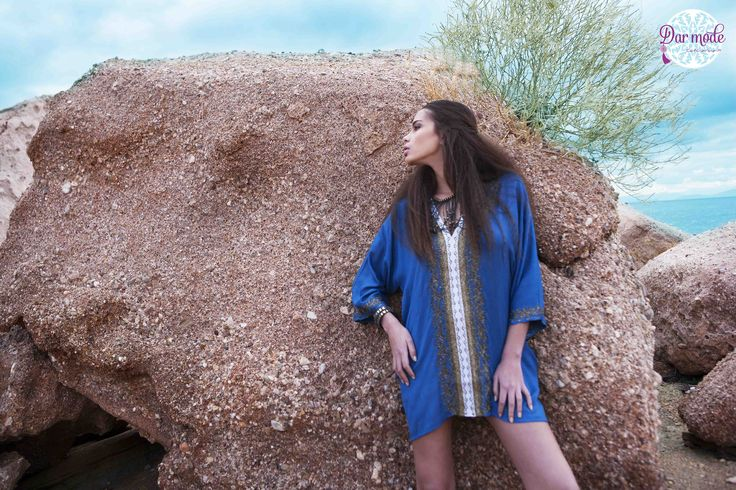 Tunic Halima・Salt in the air Sand in my hair lookbook