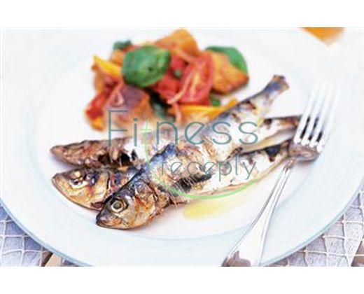 Grilované sardinky so salsou verde