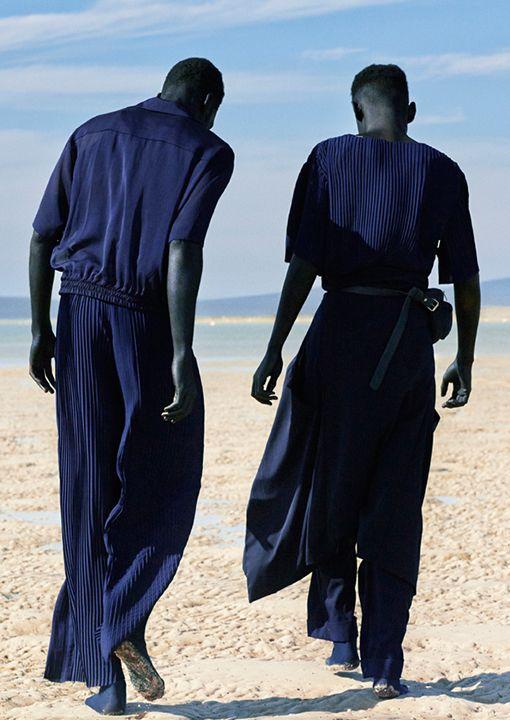 CUT FROM A DIFFERENT CLOTH — Brand: Lukhanyo Mdingi Designer: Lukhanyo Mdingi...