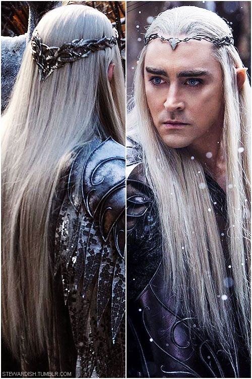 Thranduil; first look photo; The Hobbit: Battle if the Five Armies