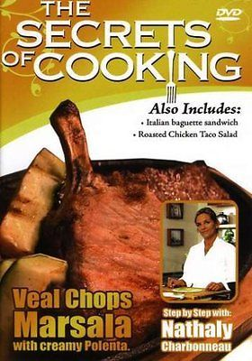 NEW Secrets of Cooking-Veal Chops Marsala (DVD)