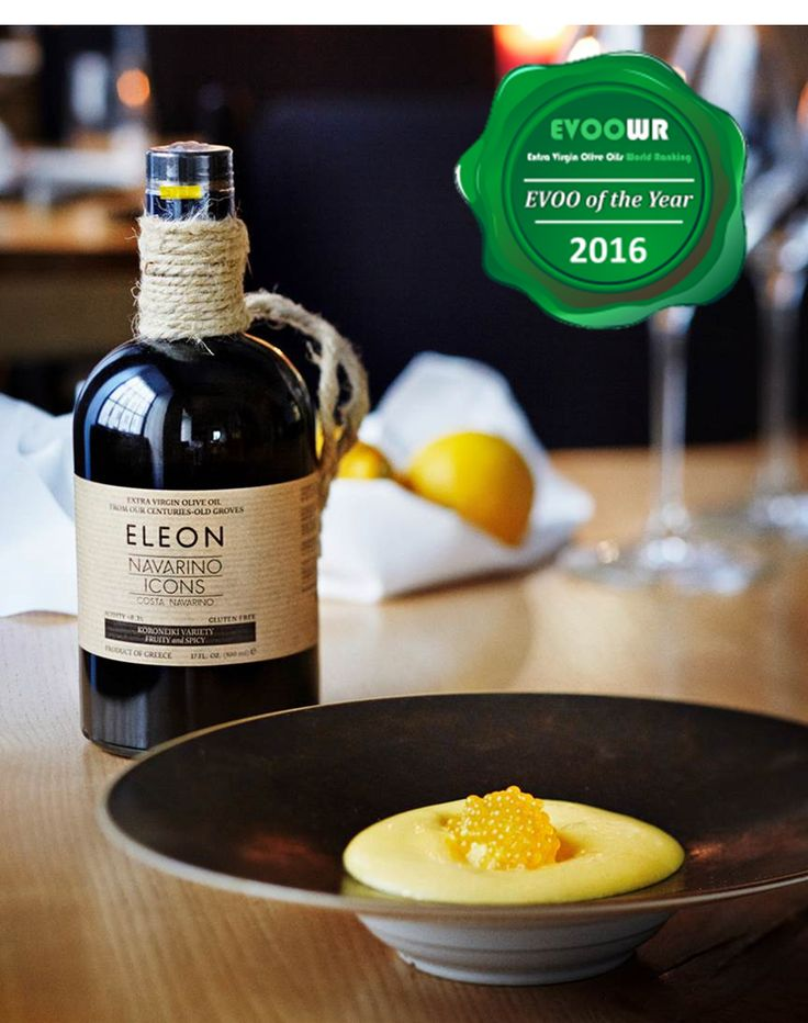 Navarino Icons Extra Virgin Olive Oil Named 'EVOO of the Year 2016'.