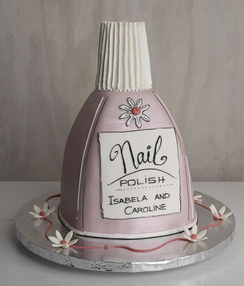 Nail Cake: 139 Best Nail Polish Birthday Party Ideas Images On