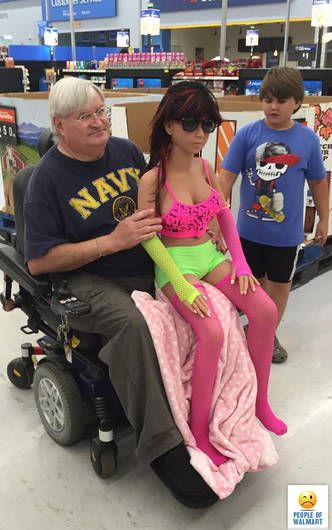 The 45 Funniest '-People of Walmart'- Photos - Page 5 of 9 | Walmart ...
