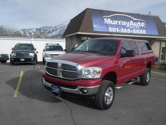 Thank you for visiting another one of Murray Auto Sales Incs online listings! Please continue for more information on this 2008 Dodge Ram 2500 SLT with 130,480 miles. Want to brave the road less traveled? Youll have the 4WD capabilities to do it with this vehicle. Driven by many, but adored by more, the Dodge Ram 2500 SLT is a perfect addition to any home. This is about the time when youre saying it is too good to be true, and let us be the ones to tell you, it is absolutely true. More…