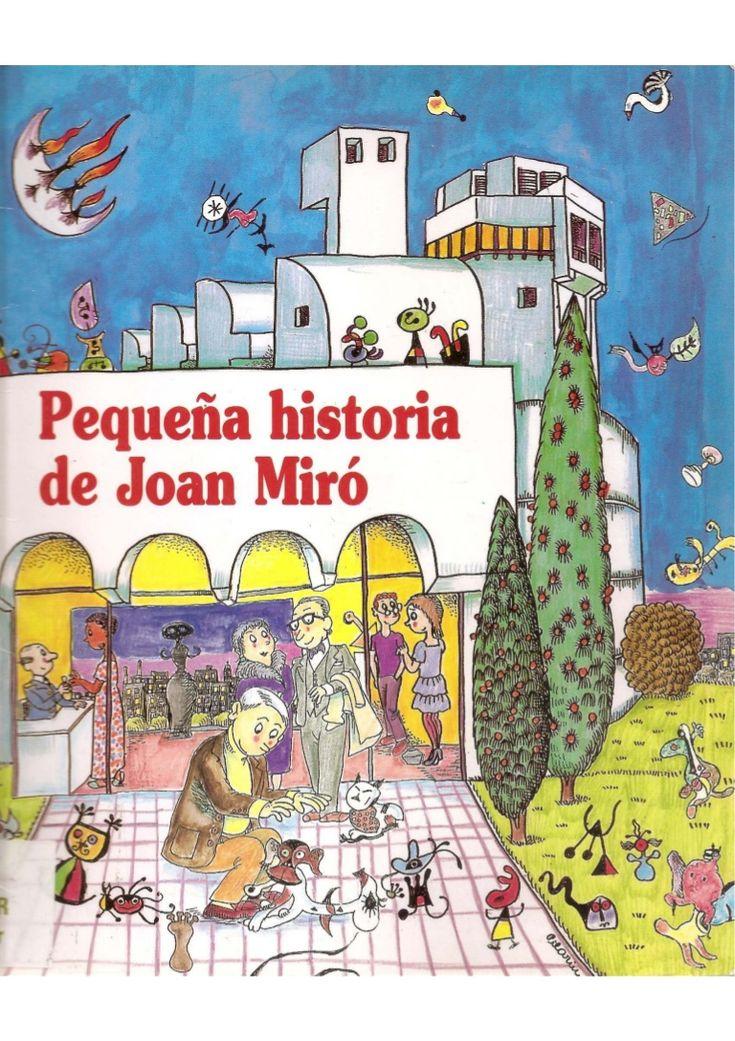 cuento sobre la vida de Joan Miró contado para los niños