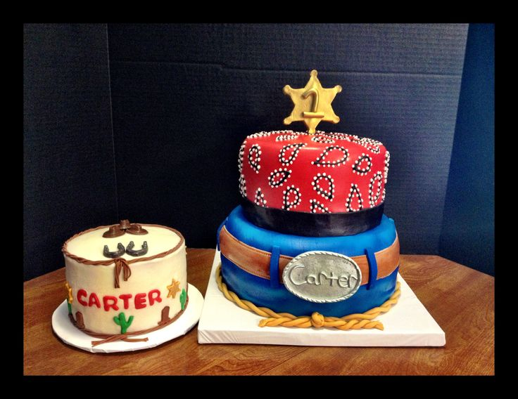 Western Birthday Cakes Pictures