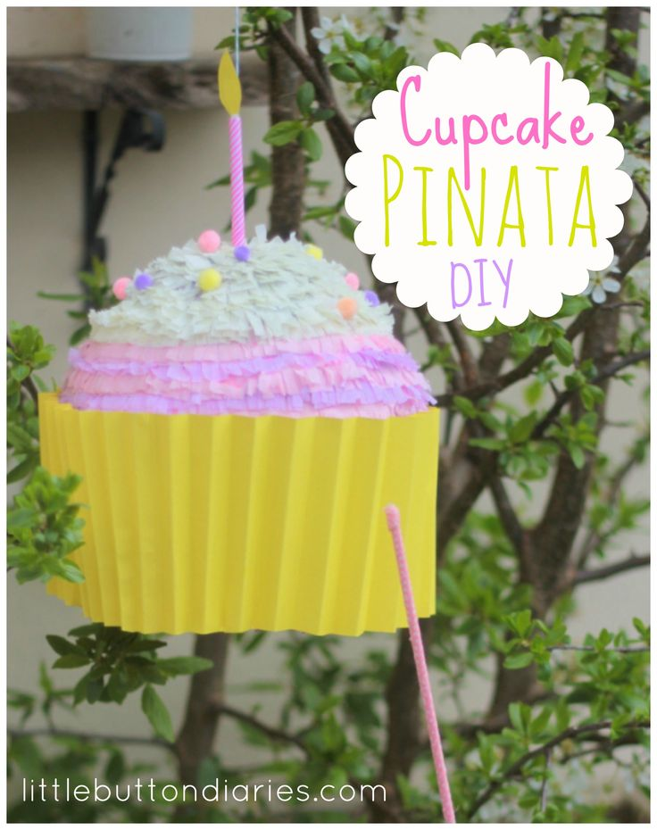 how to make a wedding cake pinata