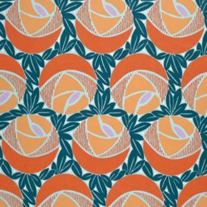 Annette Tatum - Classica Sateen - Flora in Mango
