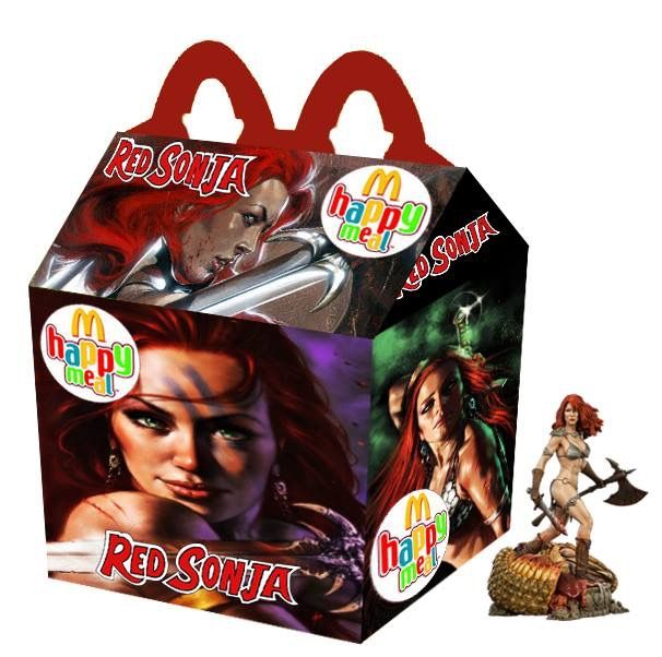 """""""Red Sonja"""" Happy Meal"""