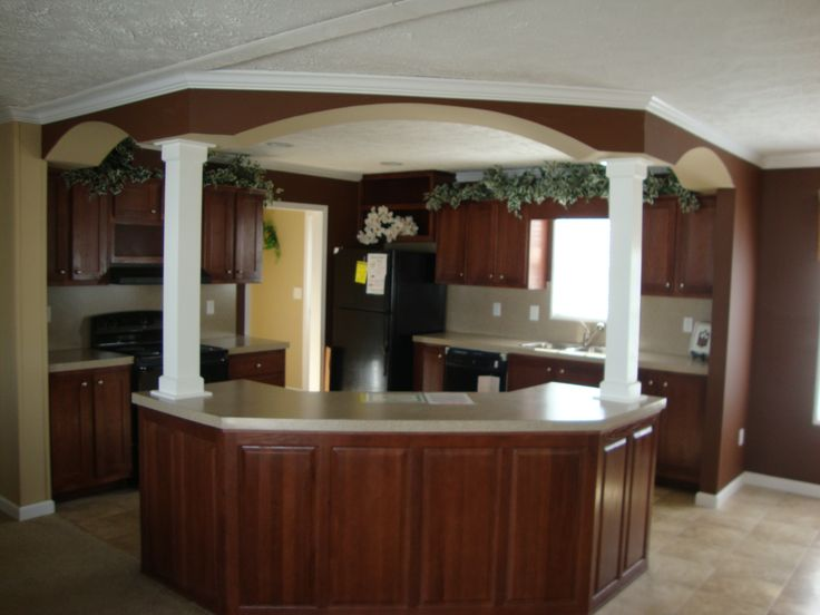 1000 images about single wide remodel on pinterest home for Mobile home kitchens pictures