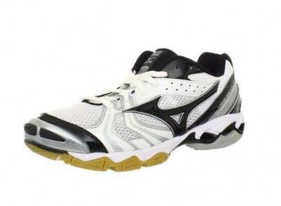 Tênis Mizuno Women's Wave Bolt 2 Volleyball Shoe White Black #Tenis #Mizuno