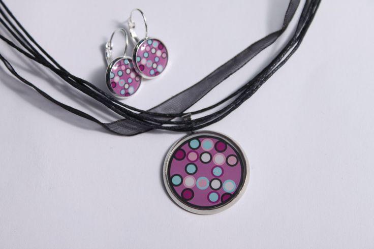 Sada šperků z křišťálové pryskyřice s motivem