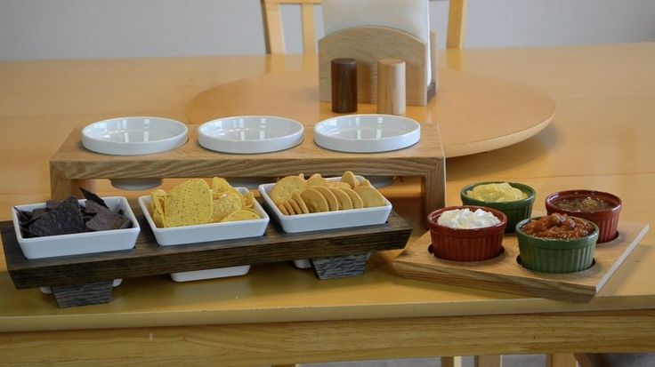 Tutorial for dip & condiment trays