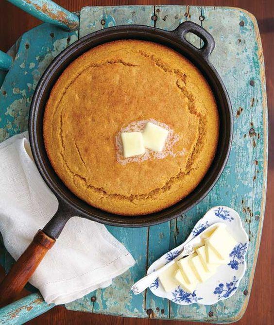 Sweet Potato Cornbread Recipe _ Southern Living Magazine | Southern Living: No Taste Like Home | Oxmoor House, 2013