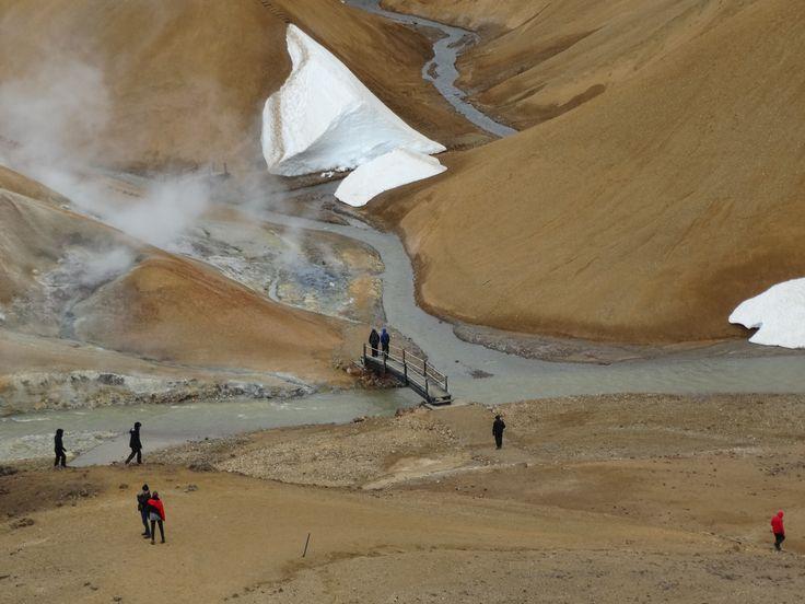 wandelen en de hel #ijsland