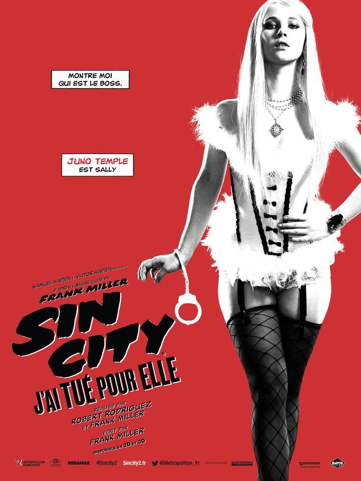 Affiche : Sin City: j'ai tué pour elle - Le blog de Marvelll