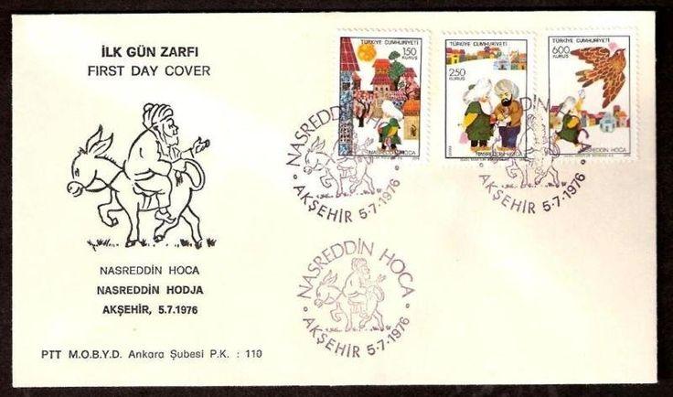 Stamp: Nasreddin Hodscha (Turkey) (Nasreddin Hodscha 3v) Mi:TR 2395