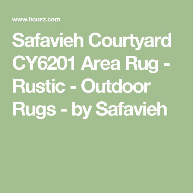 Safavieh Courtyard CY6201 Area Rug - Rustic - Outdoor Rugs - by Safavieh
