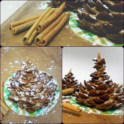 Eatable pine cone